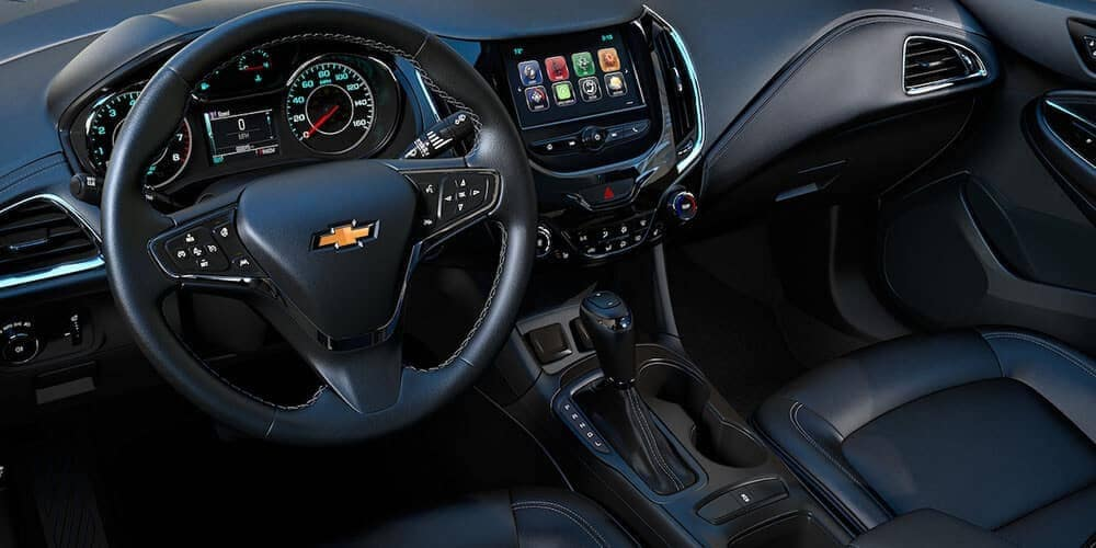 dashboard in the 2019 Chevrolet Cruze