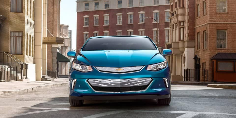 front end of 2019 Chevrolet Volt