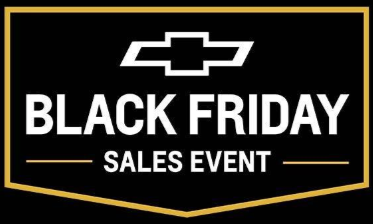 Black Friday chevy logo