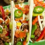 Taco Dinner at Casa Margarita