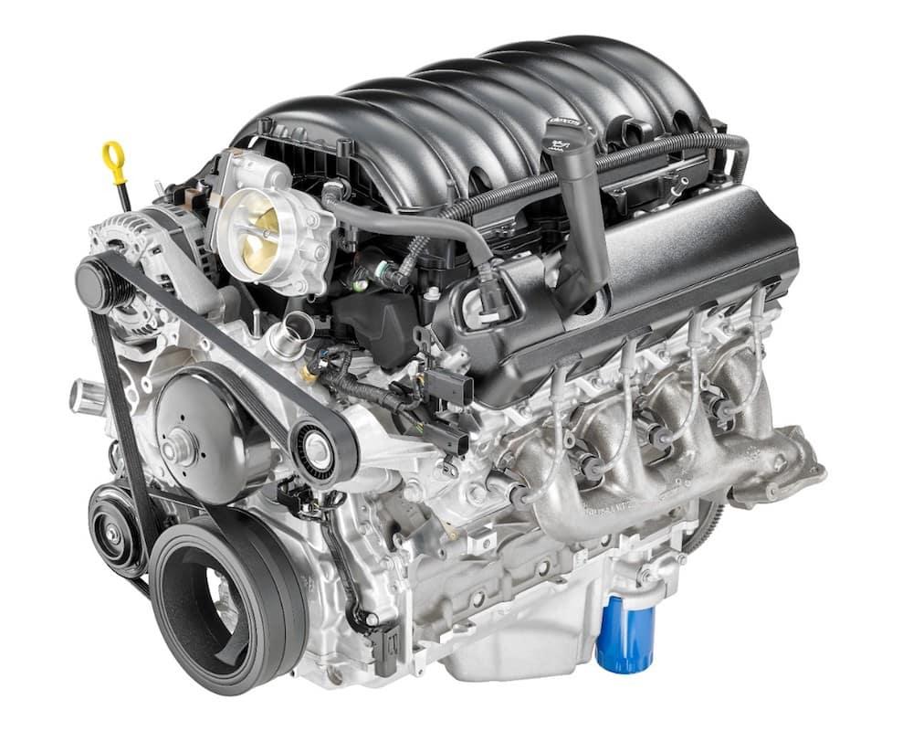 2019 Silverado 6.2L V8 Engine