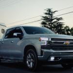 2019 Chevy Silverado 150 towing trailer