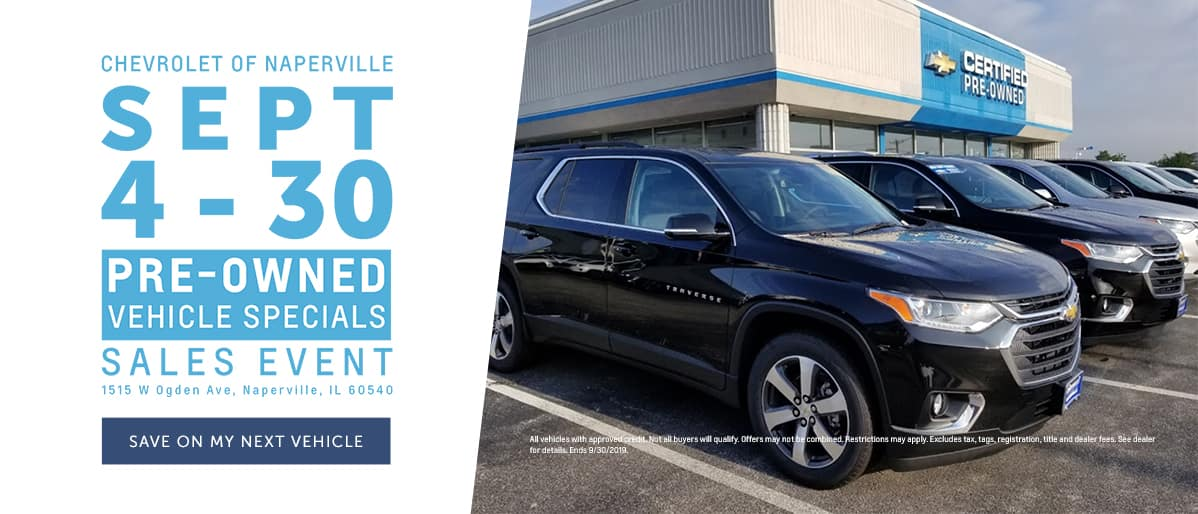 September Pre-Owned Specials Event - Save on my next vehicle