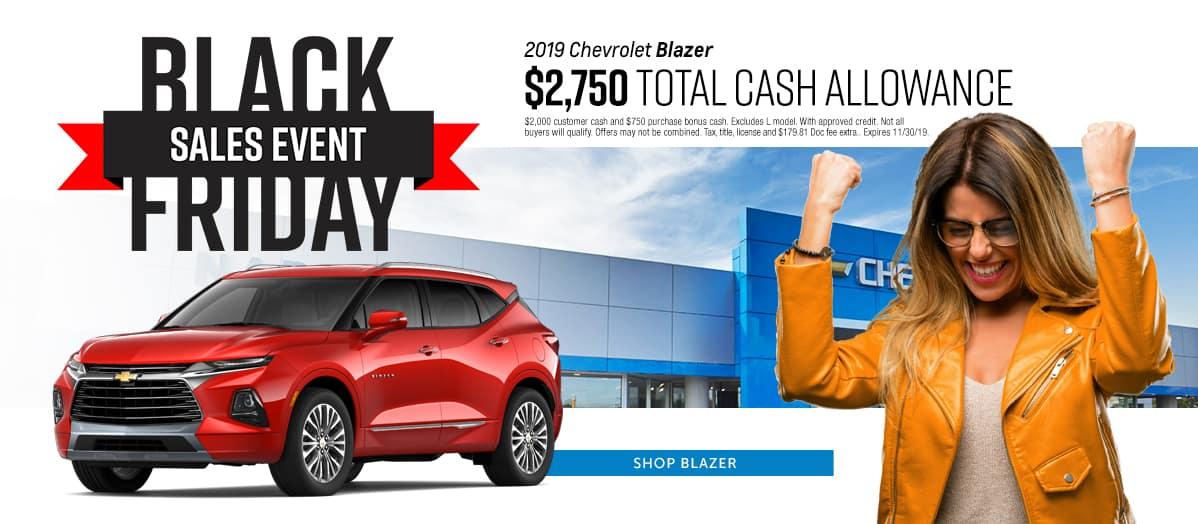 2019 Chevrolet Blazer - Receive $2,750 total cash allowance - Shop Blazer