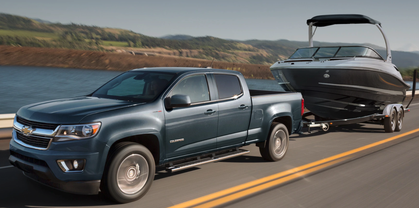2020 Chevrolet Colorado Towing