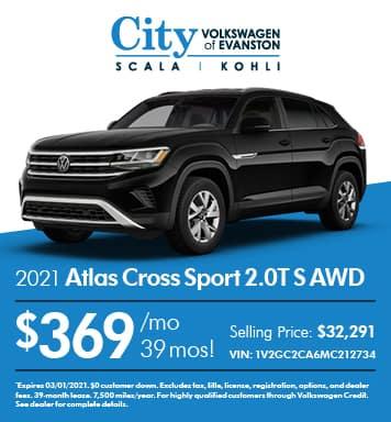 2021 Atlas Cross Sport