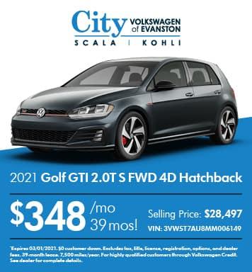2021 Golf GTI