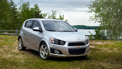 2013 Chevy Sonic Hatchback LTZ
