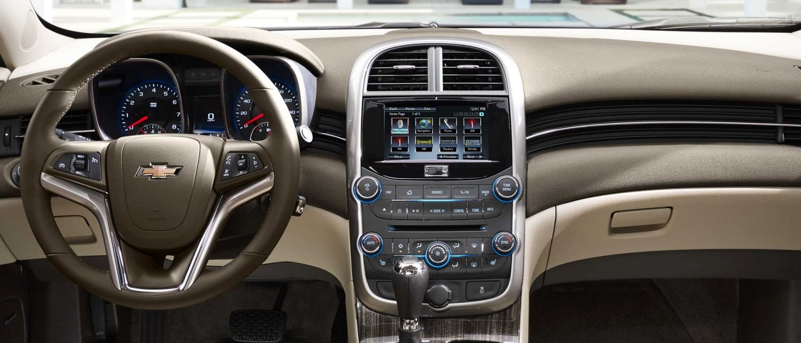 2015 Chevy Malibu Interior