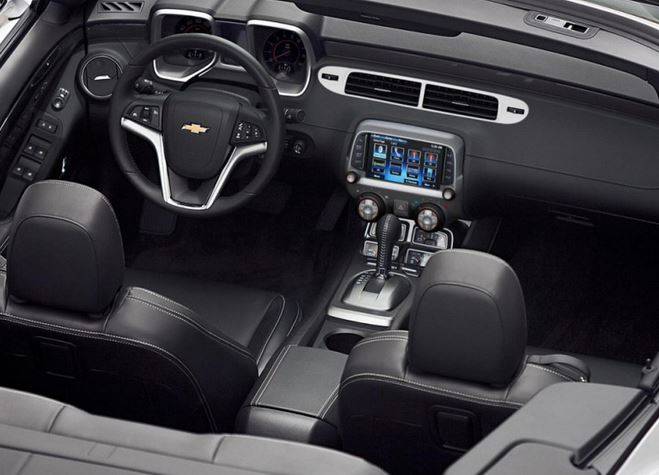 The 2014 Chevy Camaro Interior Sets a New Standard