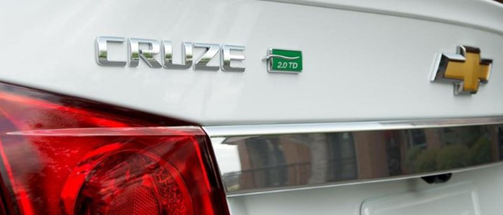 2015 Chevrolet Cruze Diesel Badge