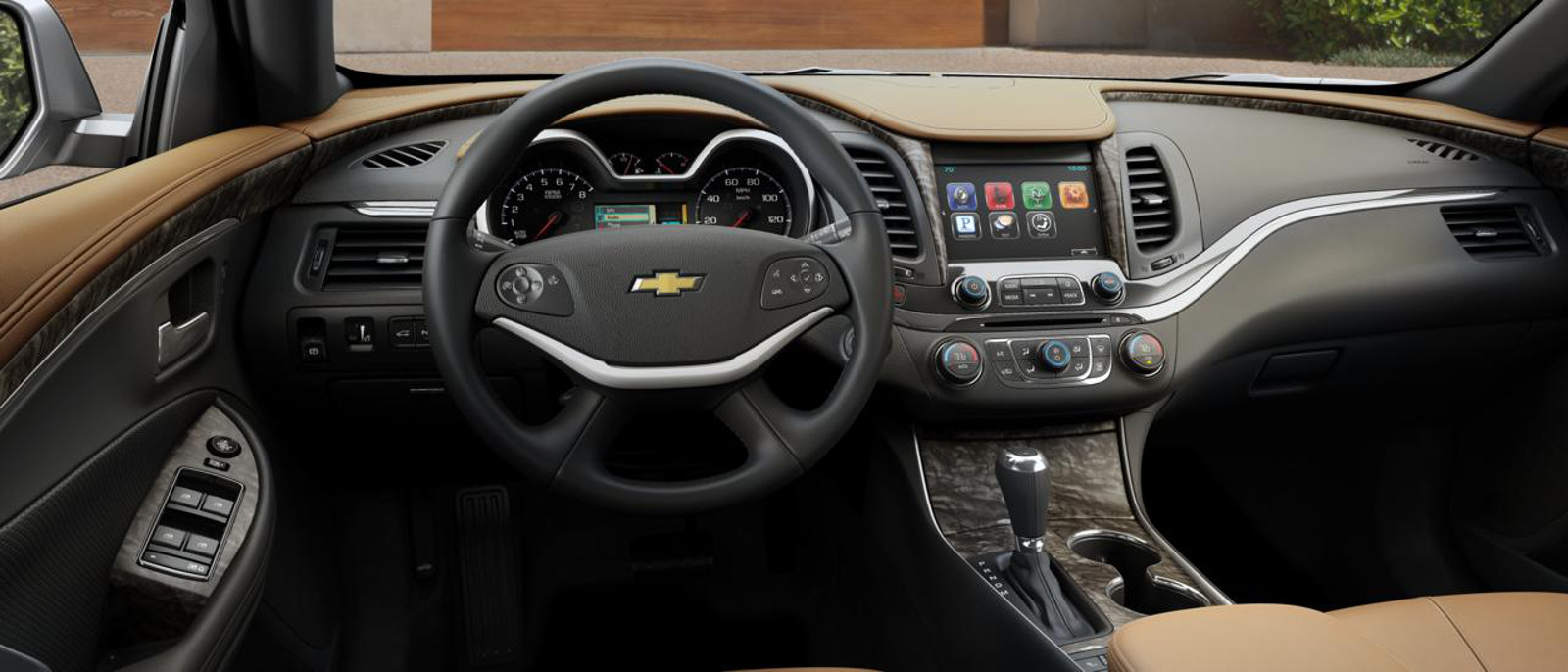 2015 Chevy Impala LT V6 Start Up, Tour and Review - YouTube