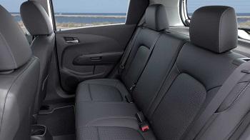 2015 Chevy Sonic Hatchback LTZ Rear Seats