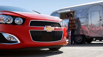 2015 Chevy Sonic Hatchback RS Front