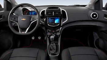 2015 Chevy Sonic RS Interior