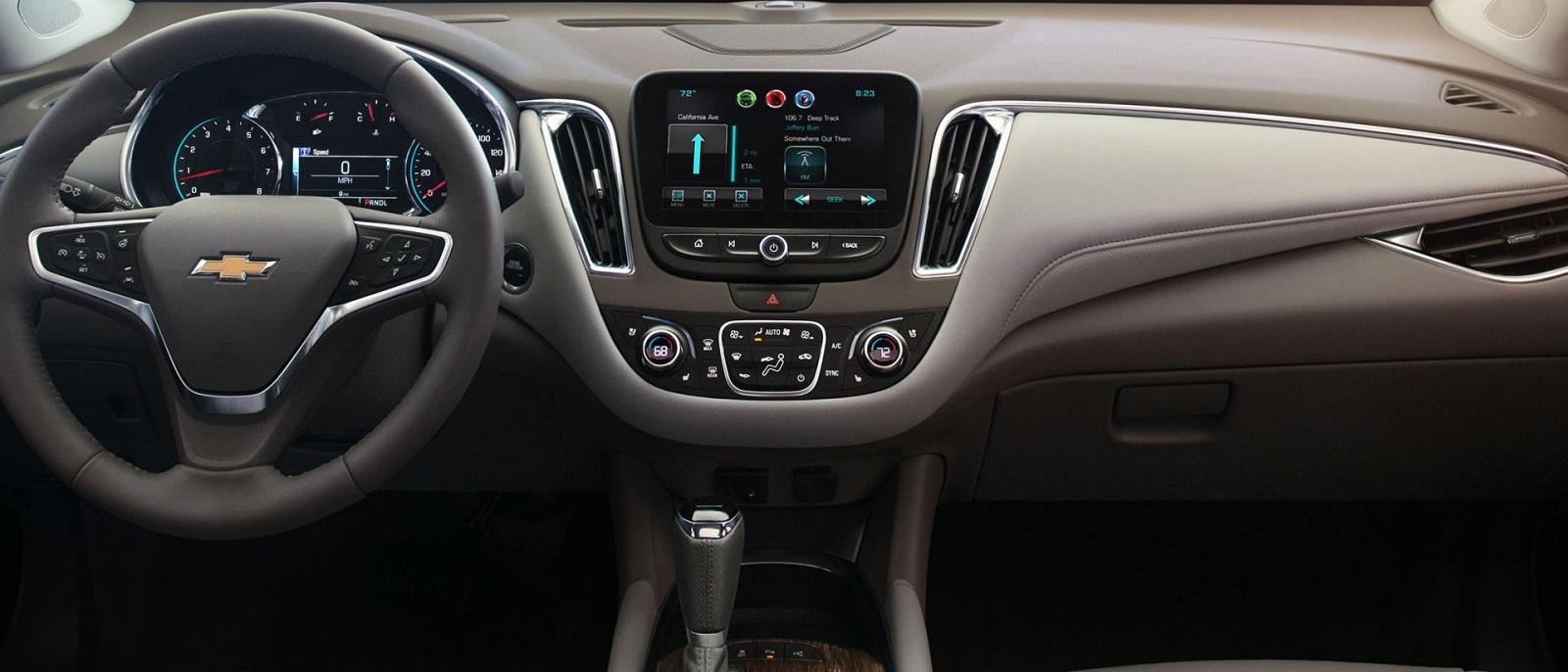 2016 Chevy Malibu Hybrid Interior