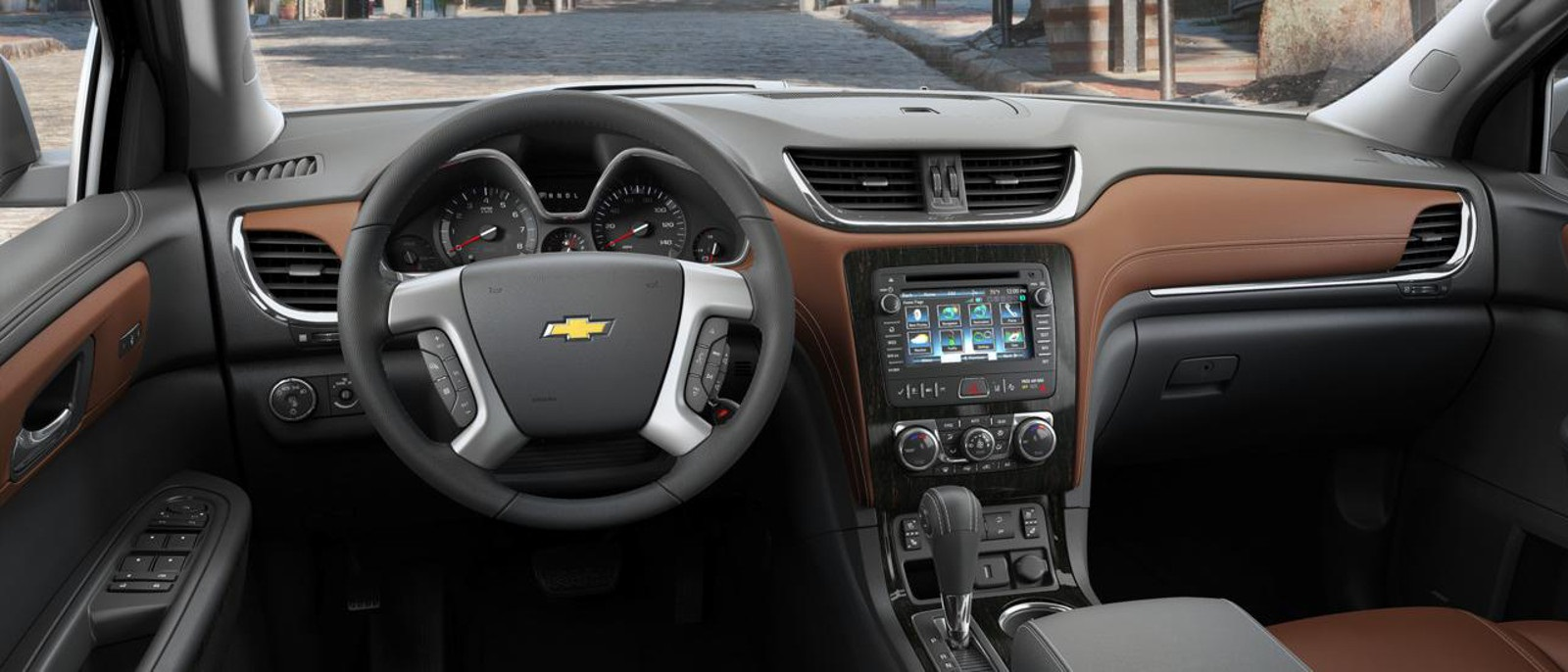 2016 Chevy Traverse Interior