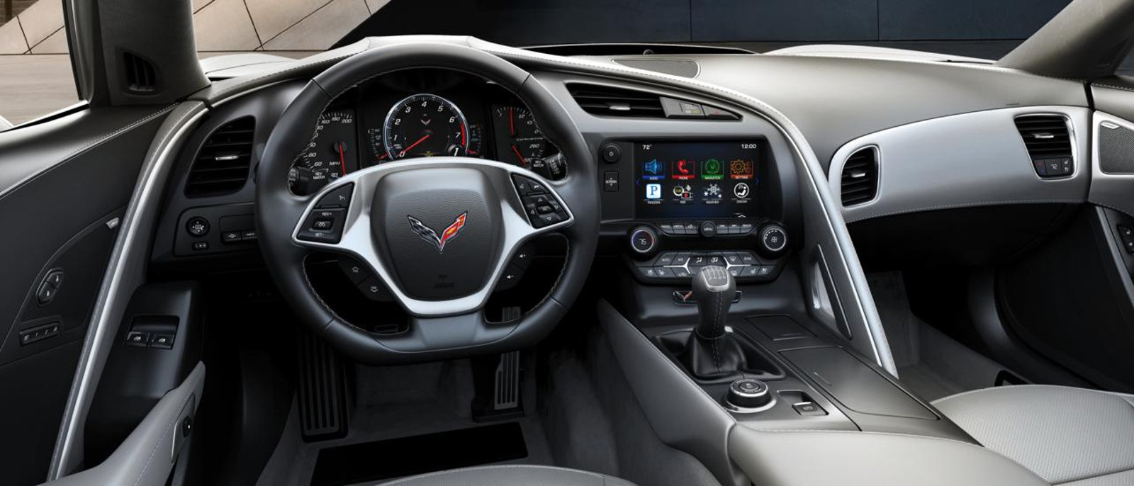 2016 Corvette Stingray Front Interior