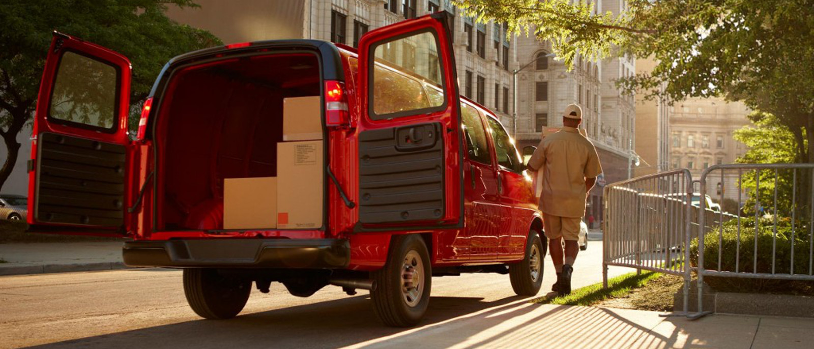 2016 Chevrolet Express Cargo Van rear space