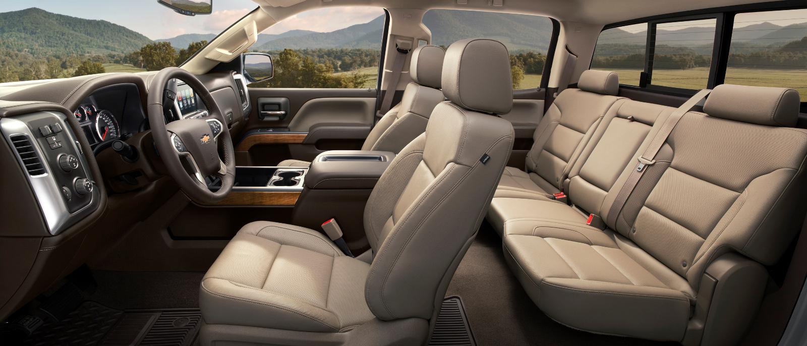 2016 Chevrolet Silverado Interior
