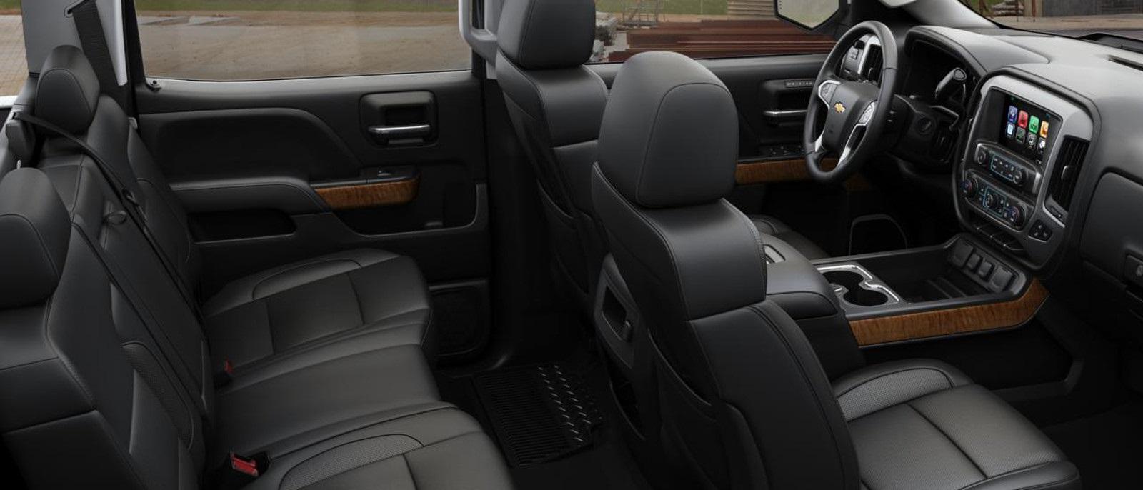 2016 Chevy Silverado 2500HD Seats