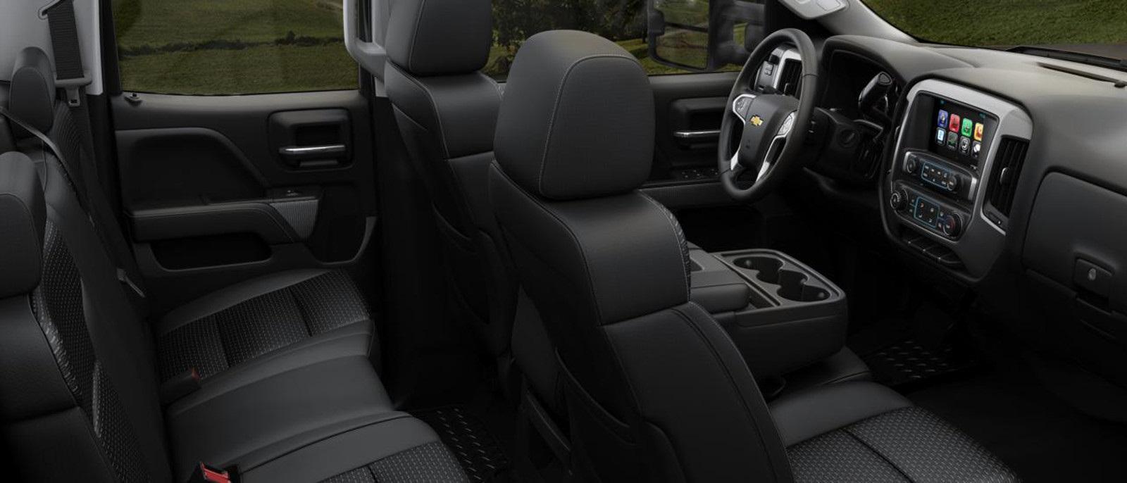 2016 Chevy Silverado 3500HD Seats