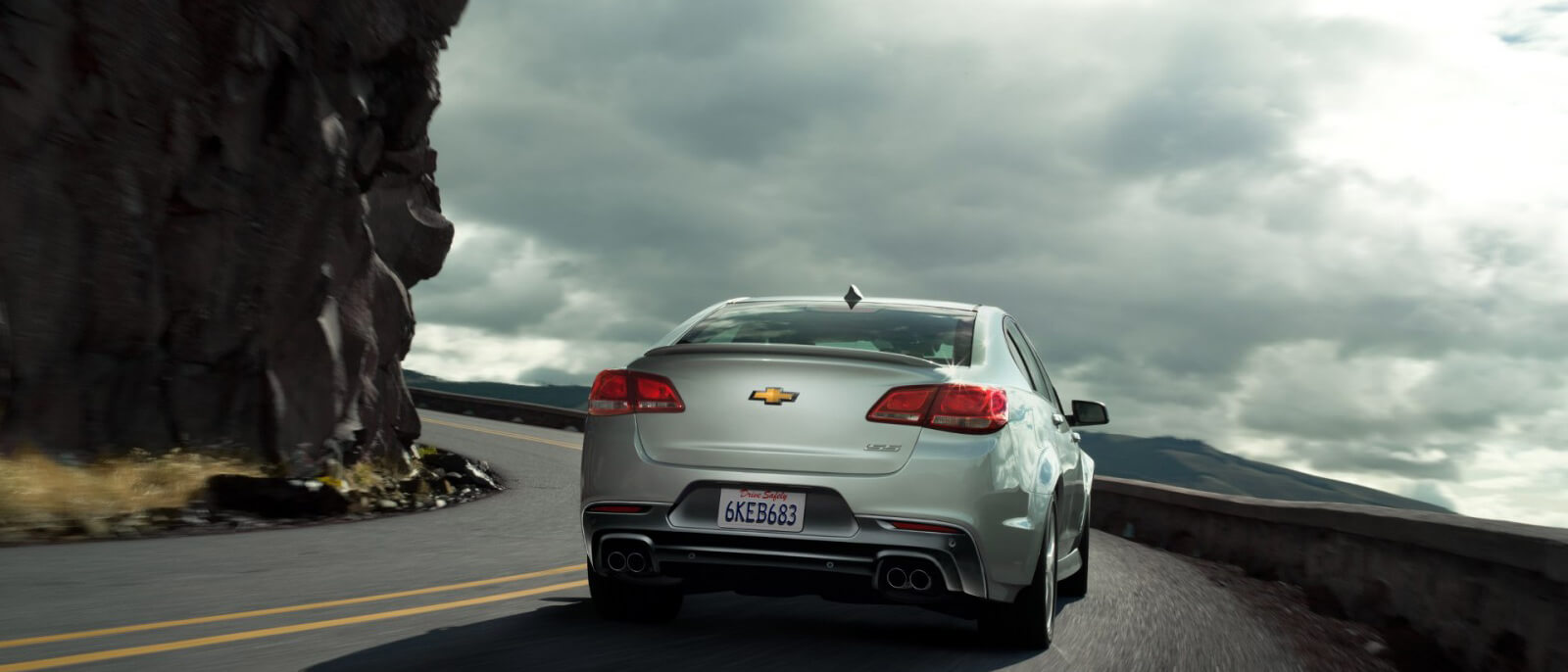 2016 Chevrolet SS rear view
