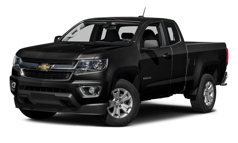 2016 Chevy Colorado-Black