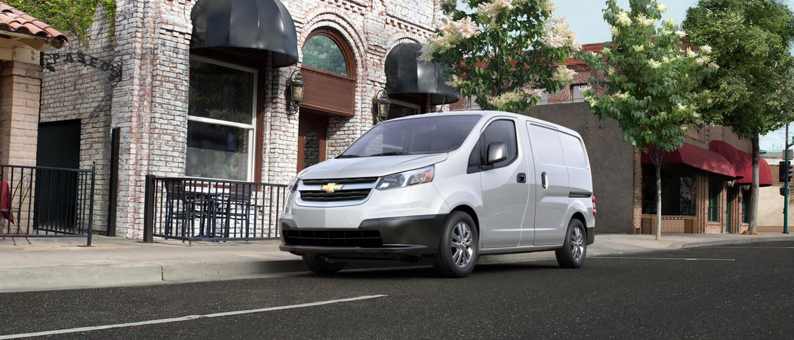 2016 Chevrolet City Express front view