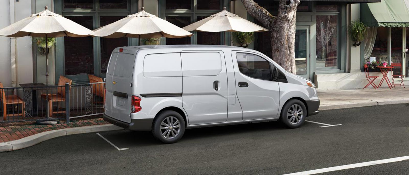 2016 Chevrolet City Express profile view