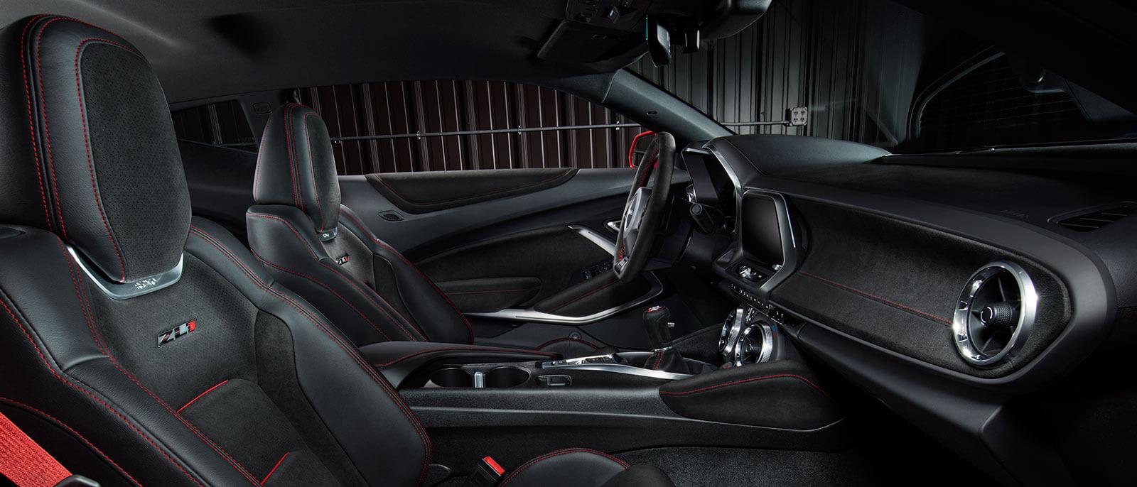 2017 Chevrolet Camaro interior