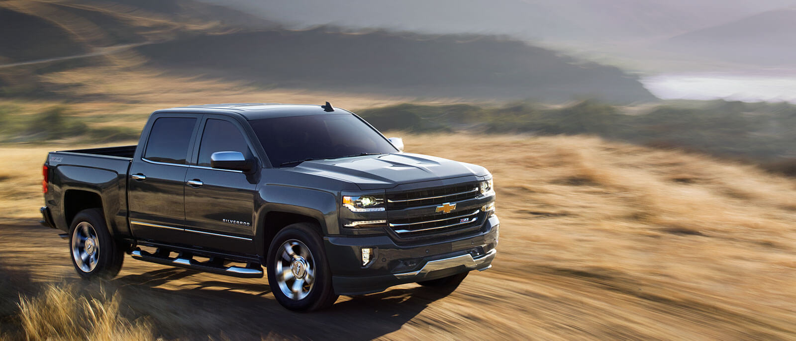2017 Chevrolet Silverado 1500 in the desert