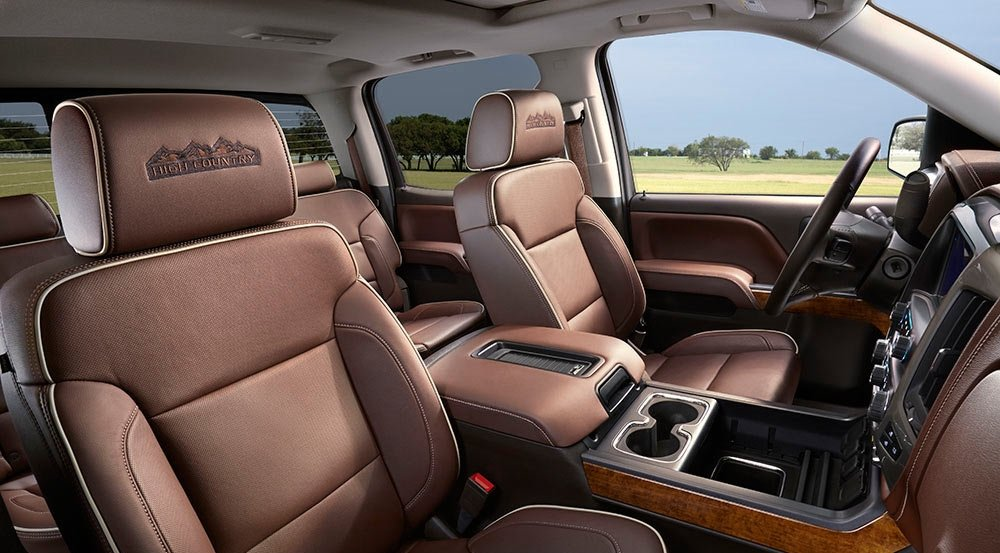 2017 Chevy Silverado 1500 High Country Interior Gallery7 1