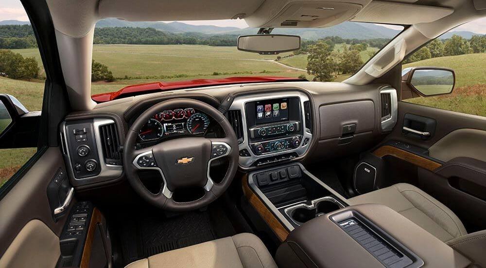 2017 Chevy Silverado 1500 LTZ Interior Gallery2 1