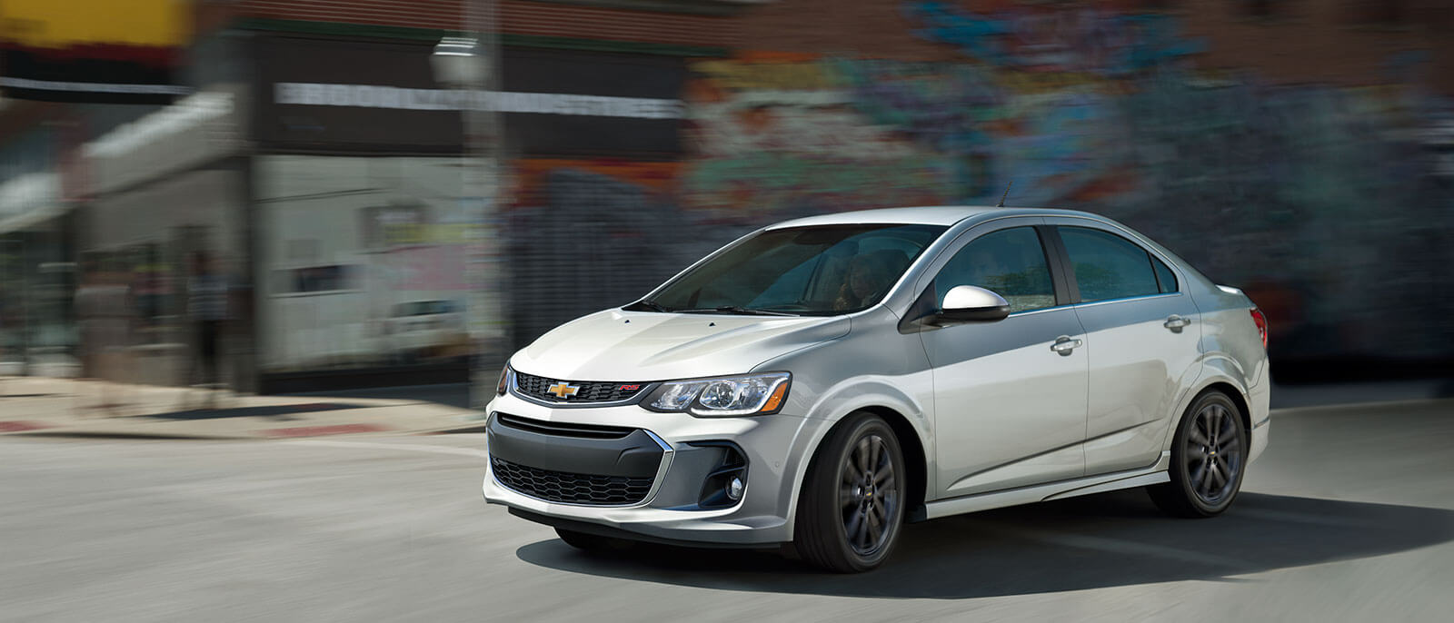 2017 Chevrolet Sonic in the city