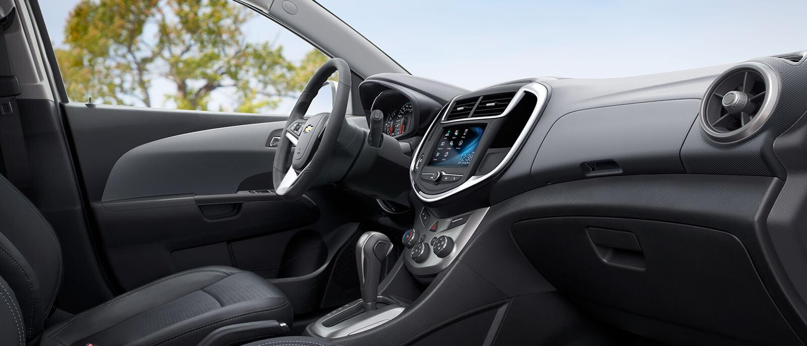 2017 Chevrolet Sonic interior dashboard