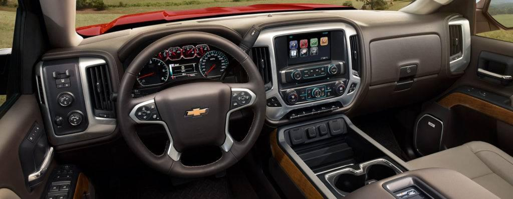 Explore the 2017 Chevrolet Silverado 1500's Interior