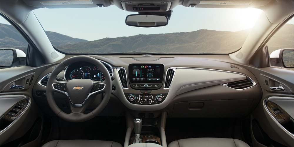 2017 Chevrolet Malibu Overlooking Hills