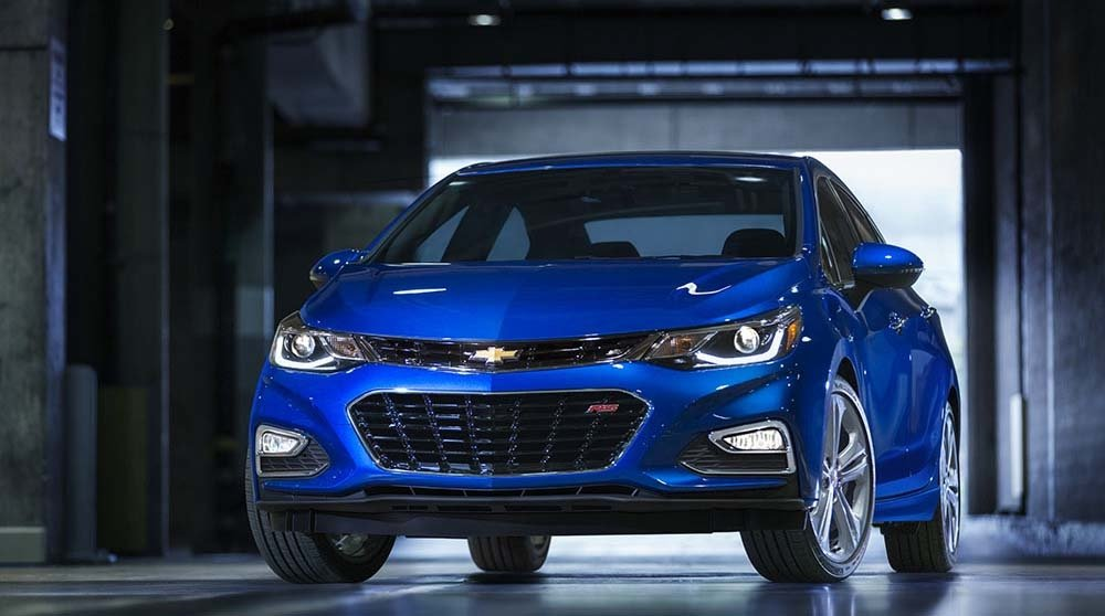 2017 Chevy Cruze Premier Kinetic Blue Gallery1 2
