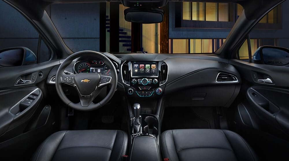 2017 Chevy Cruze Sedan Premier Interior Gallery3 3