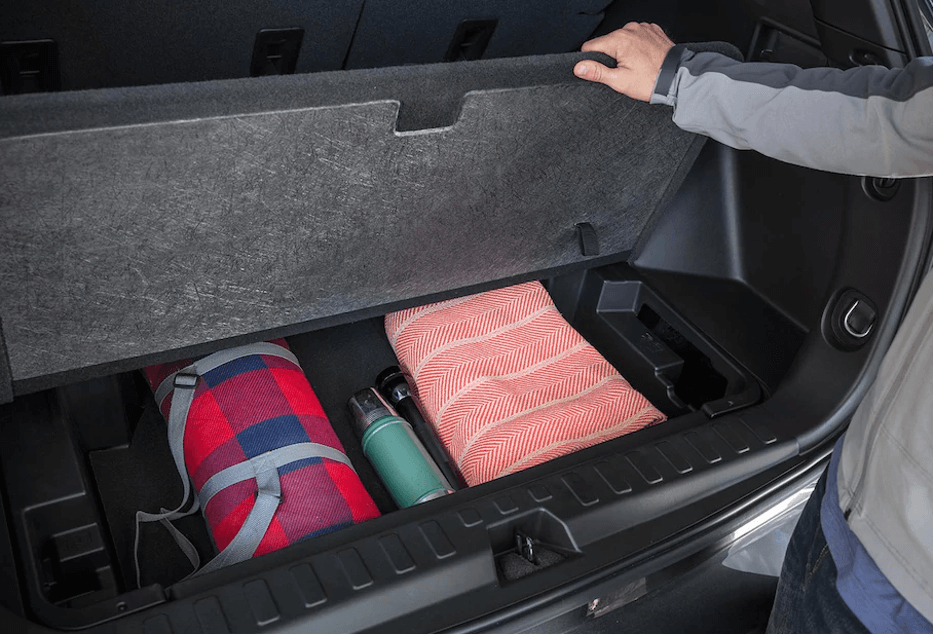 2018 Chevy Equinox cargo storage