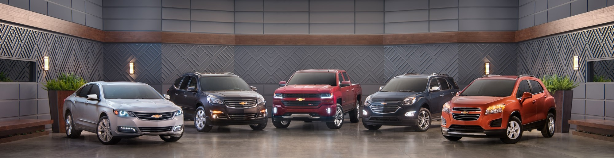 Chevy Line Up