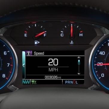 2018 Chevrolet Malibu Dash Cluster