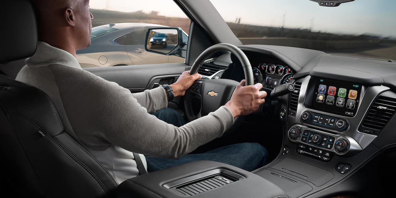 2018 Chevrolet Tahoe inside