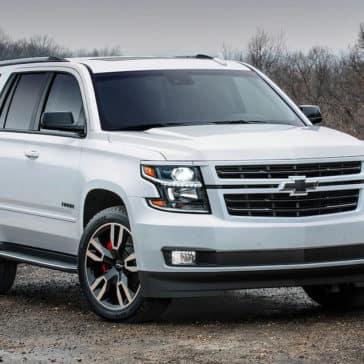 2018 Chevrolet Tahoe on white
