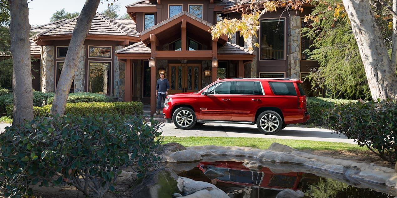 2018 Chevrolet Tahoe side wheels