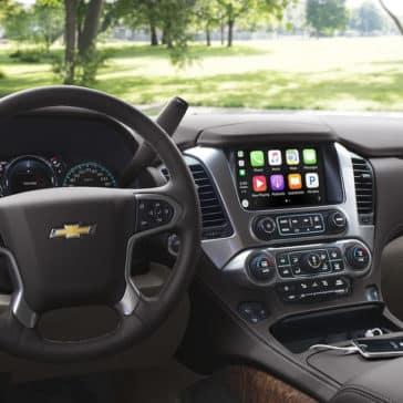 2018 Chevrolet Tahoe steering wheel