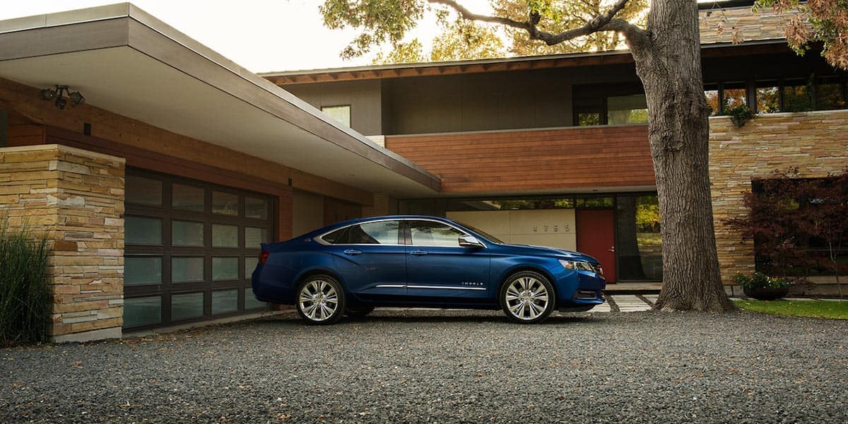 2018 Impala Exterior profile
