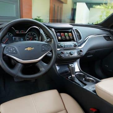 2018 Impala Interior Dash from drivers seat