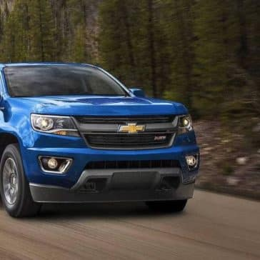 2018 Chevrolet Colorado Exterior Blue